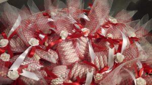 bomboniere rosso bianco