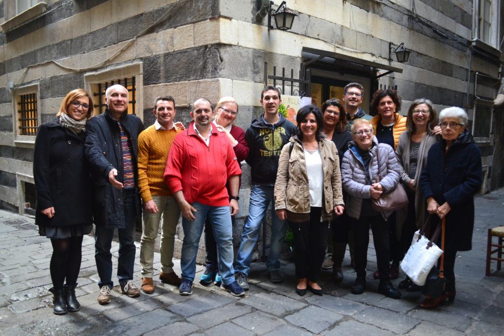 Sabato 11 novembre il consiglio direttivo si è riunito a pranzo alla Trattoria per ringraziare i proprietari del prezioso contributo