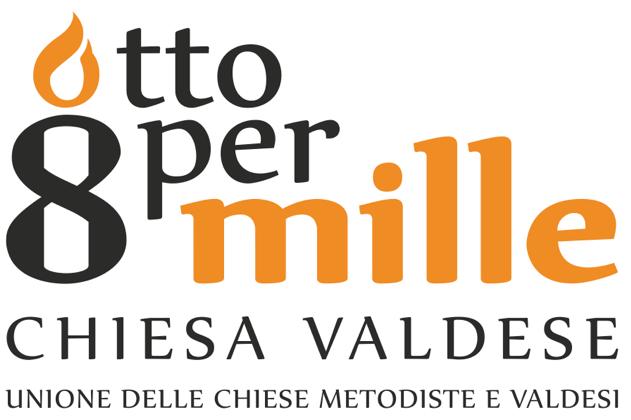 logo otto per mille valdese